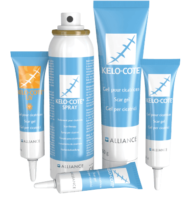 Кремове за премахване на белези kelo-cote